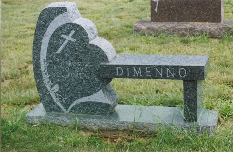 Our portfolio of granite memorial benches and monu benches Cemetery benches